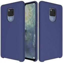 Husa Huawei Mate 20 - Silicone Case Soft Flexible Rubber Cover-Dark Blue