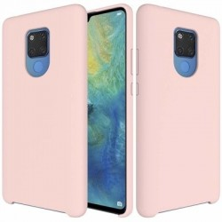 Husa Huawei Mate 20 - Silicone Case Soft Flexible Rubber Cover-Roz