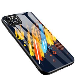 Husa Iphone 11 PRO MAX -Color Glass-cu sticla securizata- pattern 5