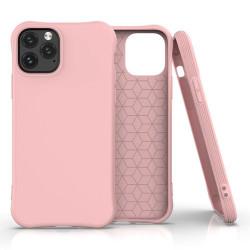 Husa Iphone 11 PRO -Soft Color Case flexible gel-roz