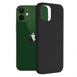 Husa iPhone 12/12 Pro -Soft Edge Silicone Neagra