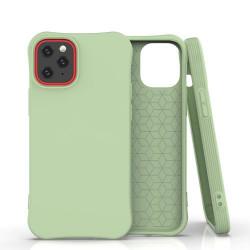 Husa Iphone 12 PRO /Iphone 12 -Soft Color Case flexible gel-verde