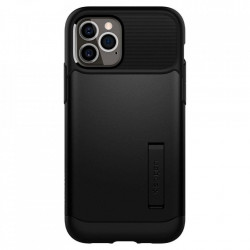 Husa Iphone 12 Pro Max -Spigen Slim Armor - Black