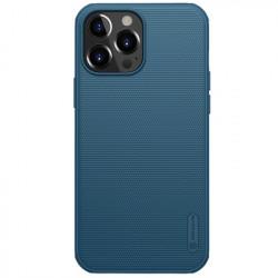Husa Iphone 13 Pro Max -Nillkin Super Frosted Shield Case Albastra