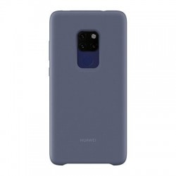 Husa originala Huawei Mate 20 -Huawei Silicone Case Soft Flexible Rubber-Light blue