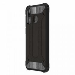 Husă Samsung Galaxy A30-Hybrid Armor Tough Rugged-Neagra