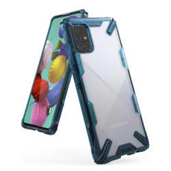 Husa Samsung Galaxy A71 - Ringke Fusion X- Blue