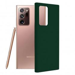Husa Samsung Galaxy Note 20 Ultra -Soft Edge Silicone Dark Green