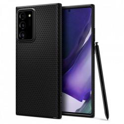 Husa Samsung Galaxy Note 20 Ultra -Spigen Liquid Air- Negru mat
