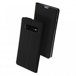 Husa Samsung Galaxy S10 Plus -Dux Ducis Skin Pro Bookcase-Neagra