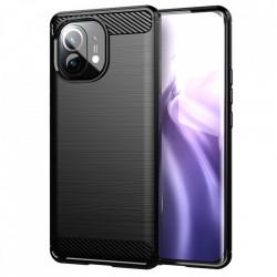 Husa Xiaomi Mi 11 Lite -Carbon Series-Black