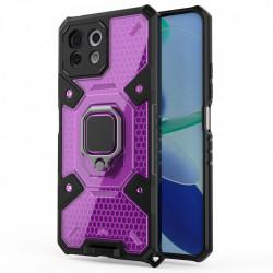 Husa Xiaomi Mi 11 Lite - Honeycomb Armor- Rose Violet