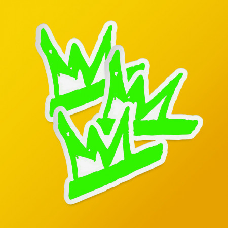 """Pack stickere """"SMKR"""" green"""