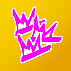 "Pack stickere ""SMKR"" purple"