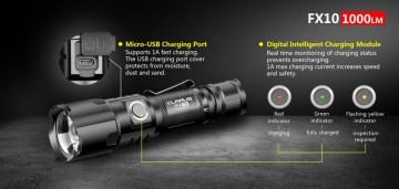 Klarus FX10 baterijska lampa