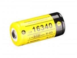 Slika Klarus punjiva baterija tip 16340 sa 650mAh