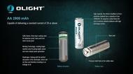 Olight AA Li Ion 1.5V