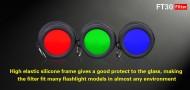 Klarus FT30 zeleni filter