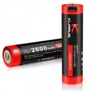 Klarus Li-ion baterija 18650UR26