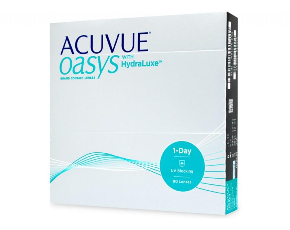 più popolare il più grande sconto super speciali 1 Day Acuvue Oasys With HydraLuxe (90 Lenti)