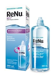 ReNu MPS - Sensitive Eyes 360 ml (Con Portalenti)