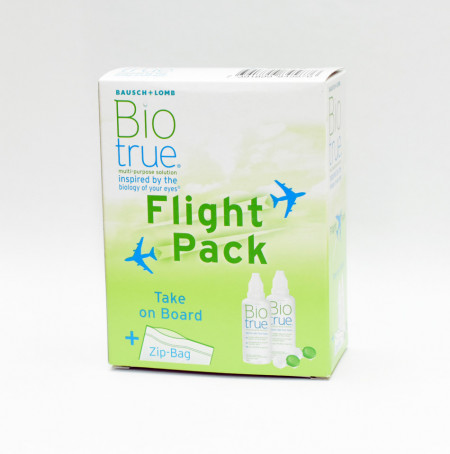 Biotrue Flight Pack 2X 60 ml (Con Portalenti)