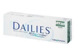 Focus Dailies All Day Comfort Toric immagini