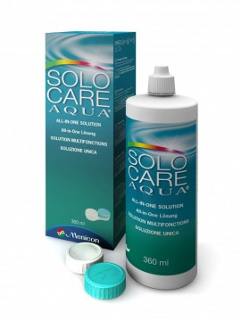 SOLO CARE Aqua 360 ml (Con Portalenti)