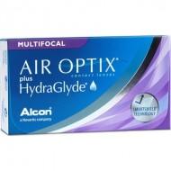 Air Optix Plus HydraGlyde Multifocal (3 Lenti)