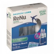 ReNu Fresh Multiplus Flight Pack 2X 60 ml (Con Portalenti)
