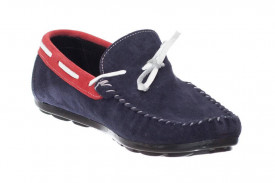Mocasini Barbati Cailo Navy Red