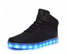 Ghete Unisex Led Black