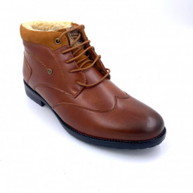 Ghete Barbati Imblanite Oxford Camel