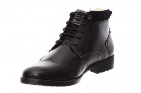 Ghete Barbati Imblanite Oxford Negre