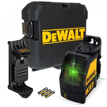 DW088CG Nivela laser linie in cruce verde DeWalt