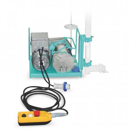 Electropalan IMER AP 150, sarcina maxima 150 kg, inaltime maxima 40 m, motor 230V, 0.8 kW