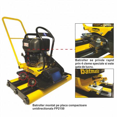 Role pentru compactare pavele BATROLLER Batmatic
