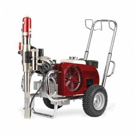 Pompa cu piston hidraulic TITAN PowrTwin 6900 DI Plus E, pompa airless vopsit/gletuit debit material 6.6 l/min.