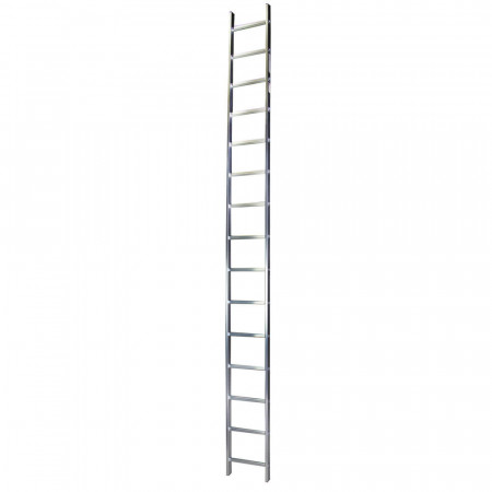 STR115 Scara simpla 15 trepte, 4.13 m aluminiu