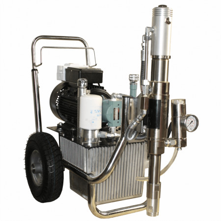 Bisonte Pompa airless hidraulica PAZ-9800e debit 10 l/min. motor 3,75 kW