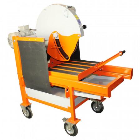 Masina de taiat caramida BISONTE KTV 650, disc 650 mm, lungime taiere 500 mm, 5.5 kW