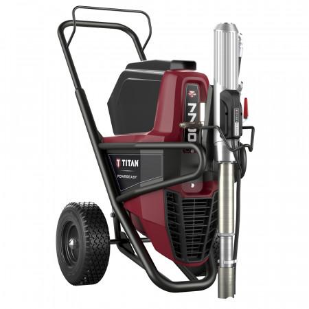 Pompa airless cu inversie directa TITAN PowrBeast 7700E, pompa airless vopsit/gletuit debit material 6 l/min.