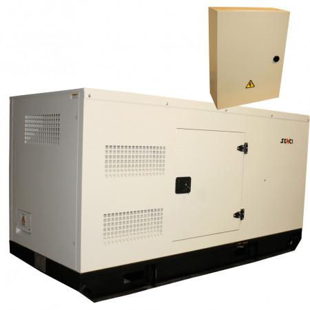 Generator stationar insonorizat SENCI SCDE 97YS-ATS, 97 kVA, 400V, AVR, motor Diesel