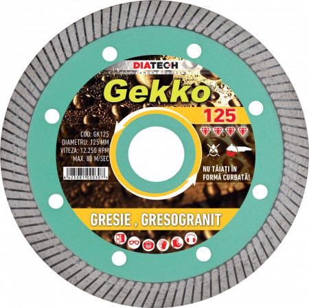 Disc diamantat pentru gresie/faianta Gekko
