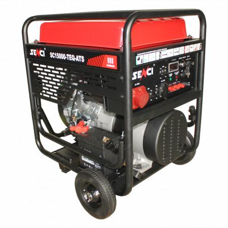 Generator SENCI SC-15000E - EVO, Putere max. 13 kW, 230V, AVR, benzina