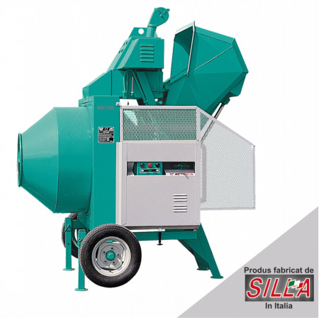 BIR 400, motor diesel Hatz, 10.2 cp, capacitate 400 l, productie beton 8 mc/ora