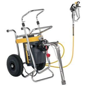 Pompa airless pentru zugravit Wagner SuperFinish 27 Spraypack Cart, motor 230V, 1.5 kW
