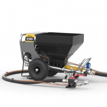 Pompa tencuit cu snec Wagner PlastCoat 1030E Spraypack, debit material 15/20/25 l/min., motor electric 2,2 kW