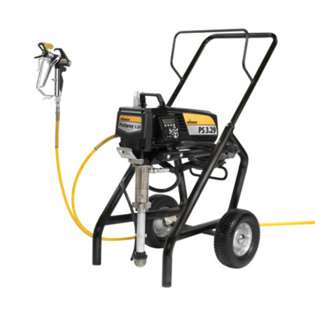 Wagner ProSpray 3.29 Airless Spraypack Cart, pompa airless vopsit debit material 3.0 l/min