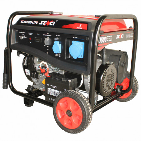 SC-9000E LITE Generator curent monofazat, putere max. 7.5 kW